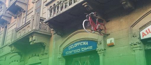 Stazione centrale Ciclofficina Cargo Bike